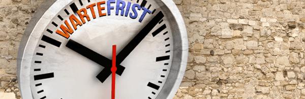 Wartezeit Rückgaberecht Kredite